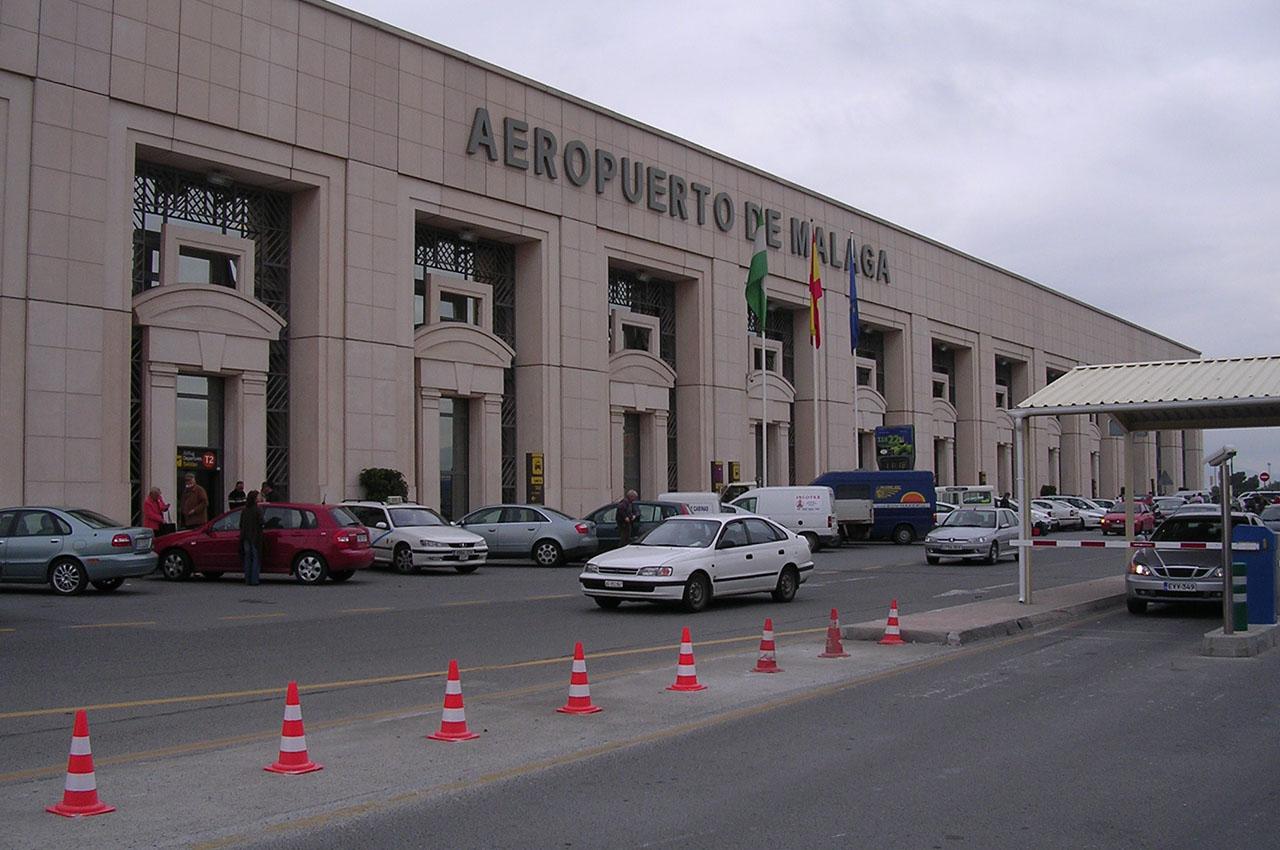 aéroport malaga